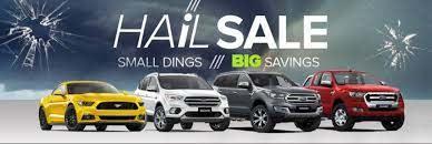 Hail Damaged car sale